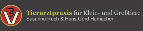 Logo Tierarztpraxis f�r Klein- und Grosstiere Susanna Ruch und Hans Gerd Hamacher